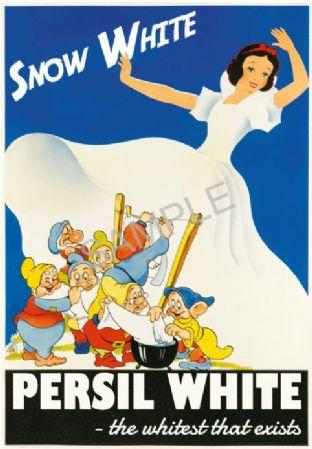 Persil Snow White Washing Soap  Powder Advert